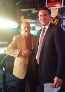 The Honorable Brian Quinn, Chief Justice of the Seventh Court of Appeals with LCDLA President, Frank Sellers